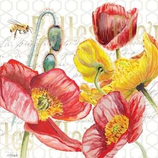 Belles Fleurs I Digital Print by Redstreake,Decorative