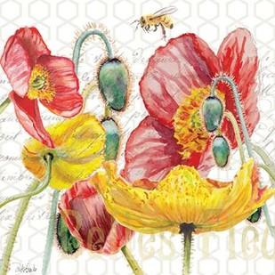 Belles Fleurs II Digital Print by Redstreake,Decorative