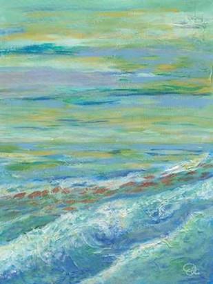 Red Fish II Digital Print by Brewington, Olivia,Impressionism