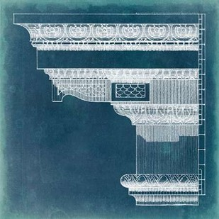 Capital Blueprint III Digital Print by Vision Studio,Geometrical