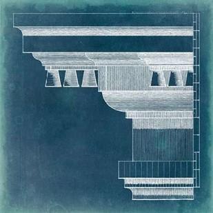 Capital Blueprint V Digital Print by Vision Studio,Geometrical