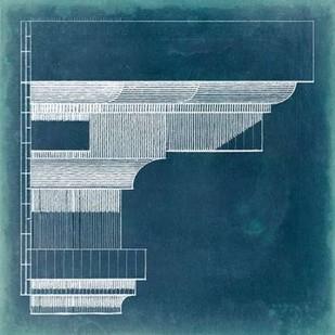 Capital Blueprint VI Digital Print by Vision Studio,Geometrical