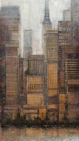 Uptown City I Digital Print by Otoole, Tim,Impressionism