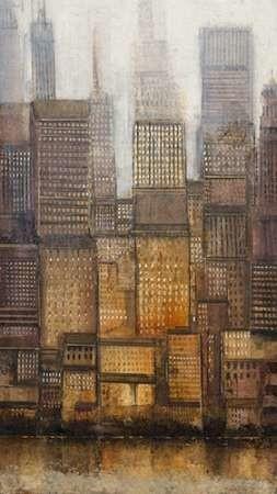 Uptown City II Digital Print by Otoole, Tim,Impressionism