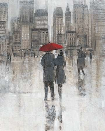Rain in The City I Digital Print by Otoole, Tim,Impressionism
