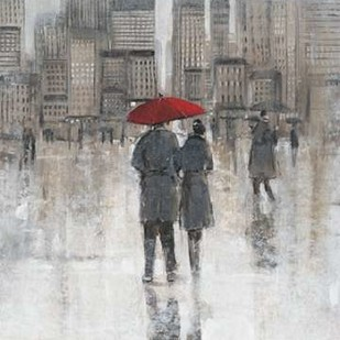 Rain in The City I Digital Print by Otoole, Tim,Impressionism