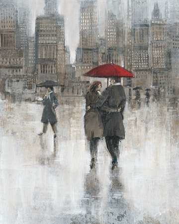 Rain in The City II Digital Print by Otoole, Tim,Impressionism