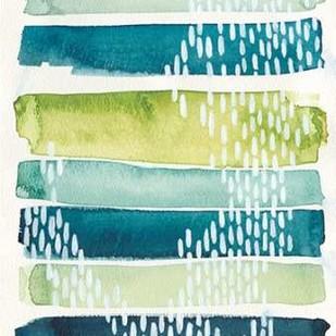 Aqua Streak I Digital Print by Popp, Grace,Abstract