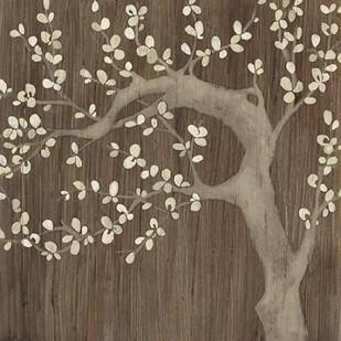 Driftwood Cherry II Digital Print by Vess, June Erica,Decorative