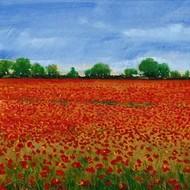 Field of Poppies I Digital Print by Otoole, Tim,Impressionism