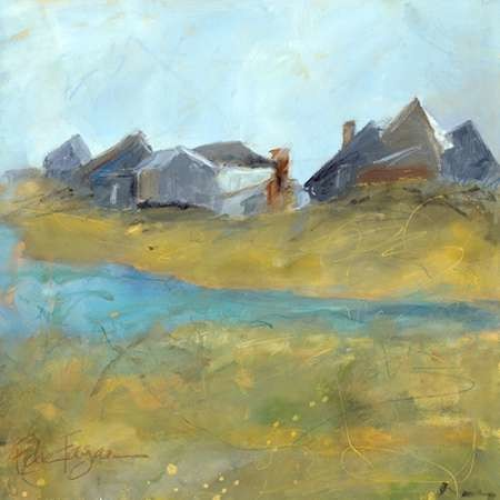 Nantucket Wind I Digital Print by Fagan, Edie,Impressionism