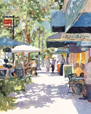 Park Ave. Shade Digital Print by Fagan, Edie,Impressionism