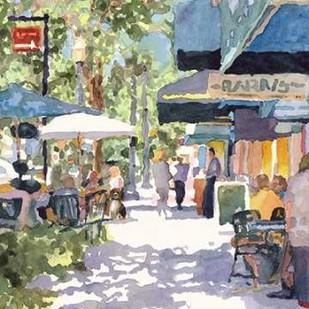 Park Ave. Shade Digital Print by Fagan, Edie,Impressionism