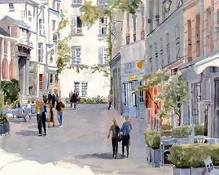 Rue de Barres Digital Print by Fagan, Edie,Impressionism