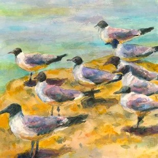 Sea Birds Watercolor II Digital Print by Fagan, Edie,Impressionism