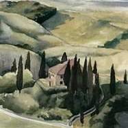 Watercolor Tuscany I Digital Print by Popp, Grace,Realism
