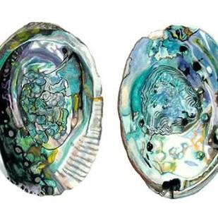 Abalone Shells I Digital Print by McCavitt, Naomi,Impressionism