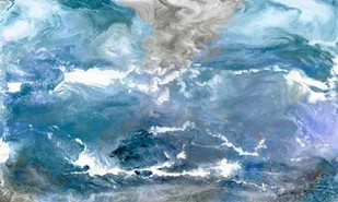 Glacial View Digital Print by Ilosky, Pam,Abstract