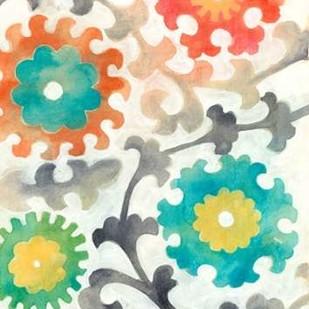 Batik Suzani I Digital Print by Zarris, Chariklia,Decorative