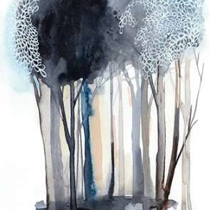 Tranquil Coppice II Digital Print by Popp, Grace,Impressionism