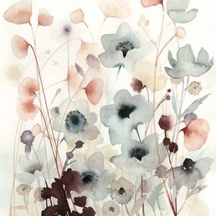 Bespoken Blossoms II Digital Print by Popp, Grace,Impressionism
