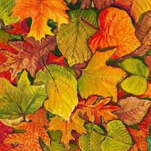 Fallen Leaves II Digital Print by Otoole, Tim,Decorative