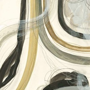 Neutral Lines II Digital Print by Vess, June Erica,Abstract
