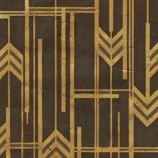 Gilded Deco I Digital Print by Vess, June Erica,Abstract