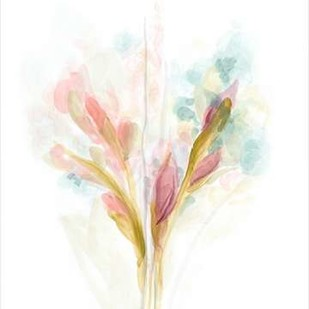 Floral Trace I Digital Print by Vess, June Erica,Impressionism