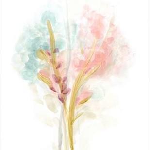 Floral Trace II Digital Print by Vess, June Erica,Impressionism