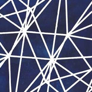 Indigo Pattern I Digital Print by Popp, Grace,Abstract