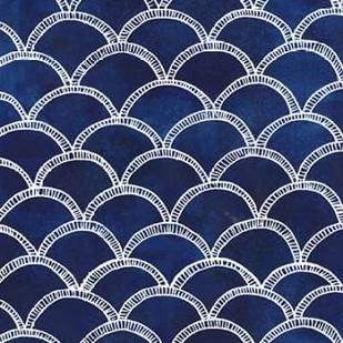 Indigo Pattern II Digital Print by Popp, Grace,Abstract