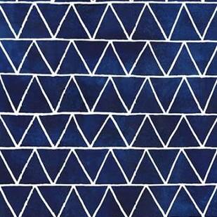 Indigo Pattern IV Digital Print by Popp, Grace,Abstract