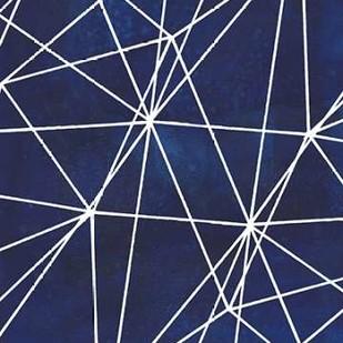 Indigo Pattern V Digital Print by Popp, Grace,Abstract