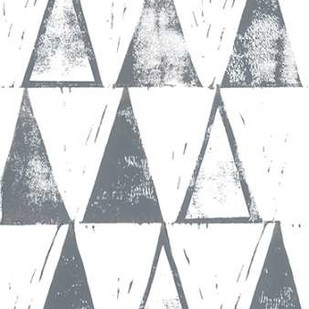 Triangle Block Print I Digital Print by Popp, Grace,Abstract