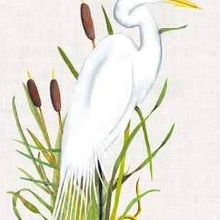 Waterbirds & Cattails III Digital Print by McCavitt, Naomi,Impressionism