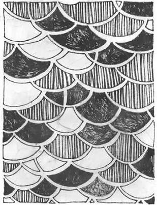 Symbol Imprint III Digital Print by Vess, June Erica,Abstract