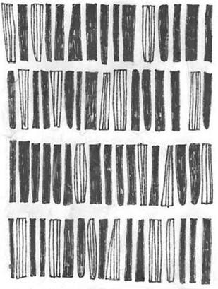 Symbol Imprint IV Digital Print by Vess, June Erica,Abstract