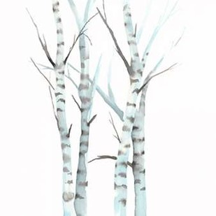 Aquarelle Birches I Digital Print by Popp, Grace,Decorative