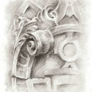 Frieze Study I Digital Print by Harper, Ethan,Illustration
