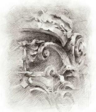 Frieze Study II Print By Harper, Ethan