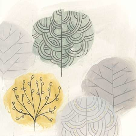 Forest Treasure IV Digital Print by Vess, June Erica,Decorative