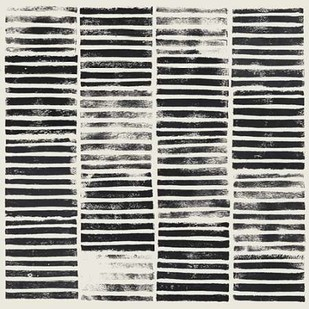Stripe Block Prints I Digital Print by Popp, Grace,Abstract