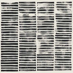 Stripe Block Prints II Digital Print by Popp, Grace,Abstract