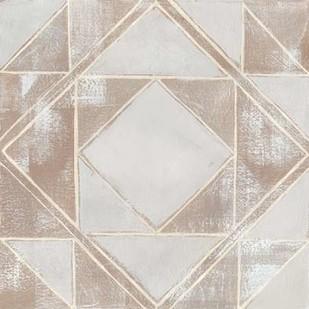 Geometric Veil II Digital Print by Popp, Grace,Abstract