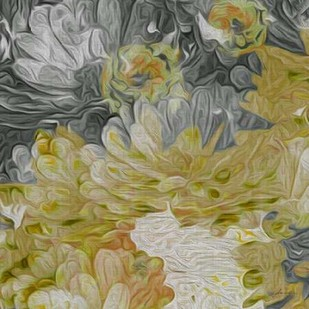 Mums in Sun III Digital Print by Burghardt, James,Impressionism
