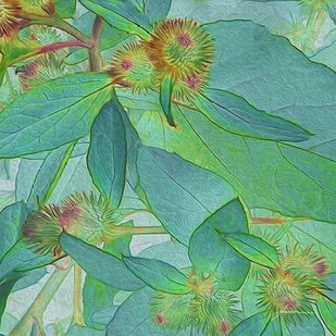 Prickley Tiles I Digital Print by Burghardt, James,Impressionism