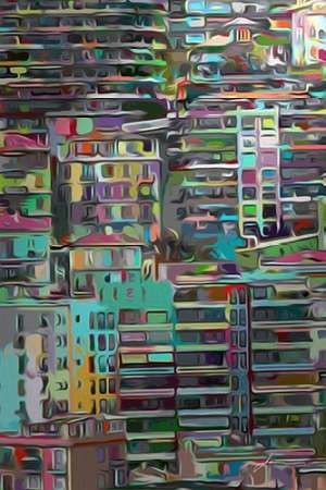 Stack II Digital Print by Burghardt, James,Impressionism