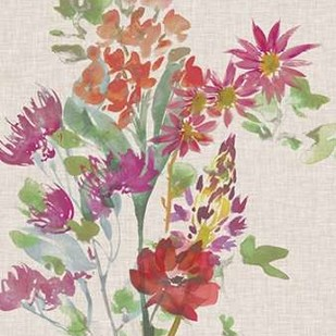 Linen Bouquet II Digital Print by Mosley, Kiana,Impressionism