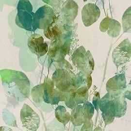 Watercolor Eucalyptus I Digital Print by Goldberger, Jennifer,Impressionism